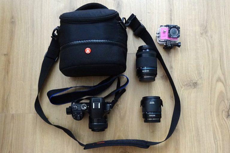 Meine Fotoausrüstung für Neuseeland.