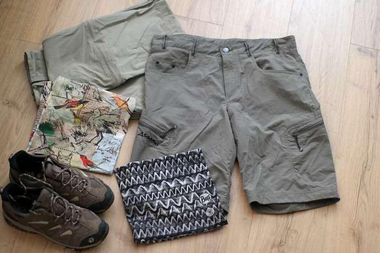 Kleidung muss für Neuseeland praktisch sein.
