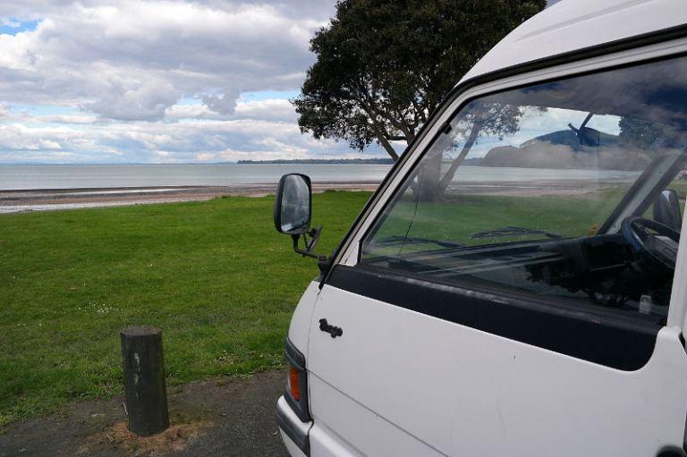 Campervan am Strand