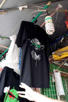 Nerdy T-Shirts China Town Singapur.