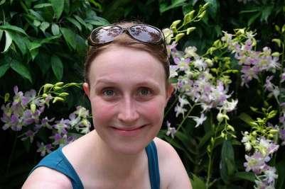 Fotospot Orchideengarten Singapur.