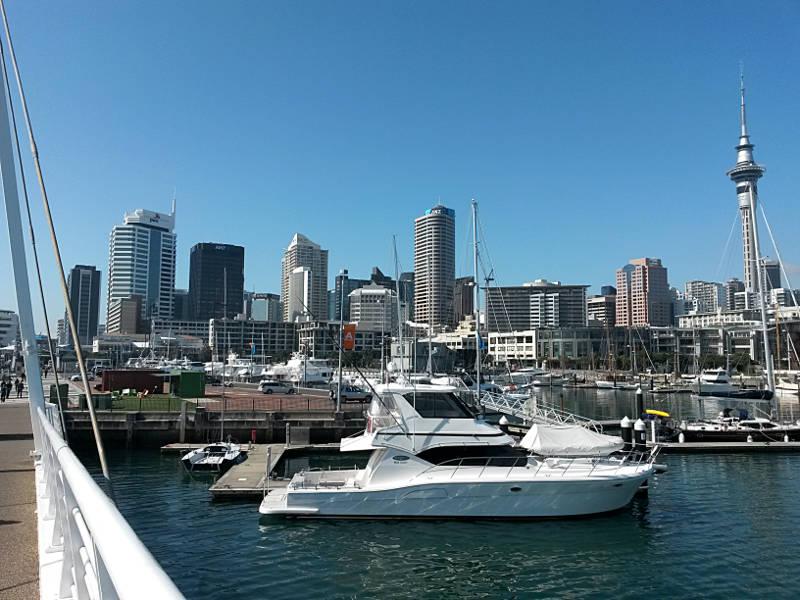 Hafen Auckland