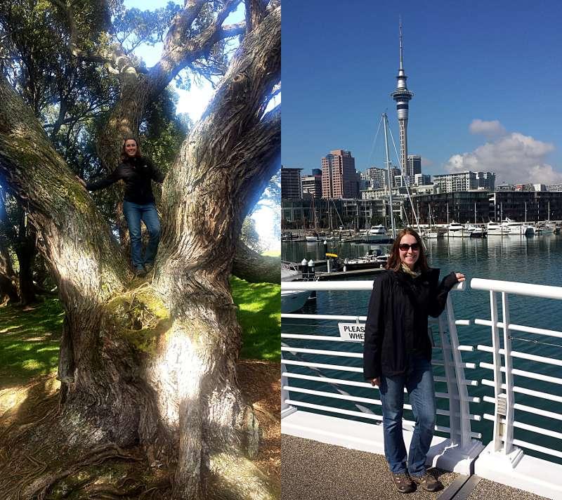 Franzi in Auckland