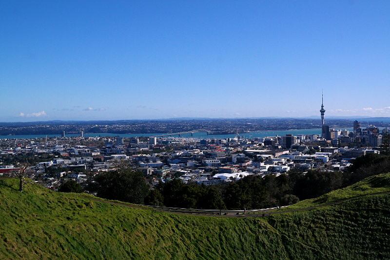 Aussicht Mt Eden Auckland