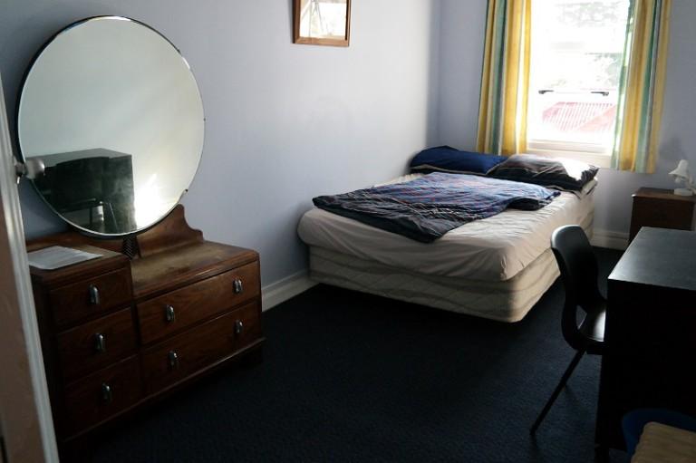 Unser Zimmer im Hostel Oaklands Lodge
