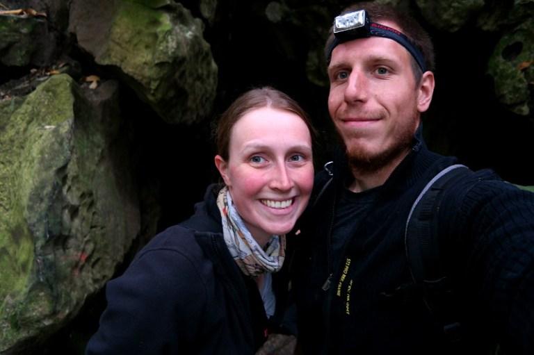 Abbey Caves Franzi und Jonas