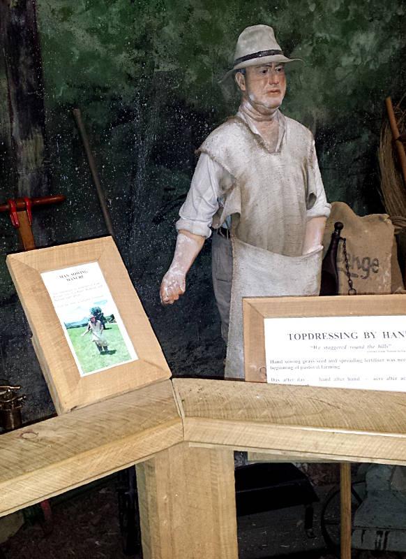 Kauri Museum lebensechte Figuren
