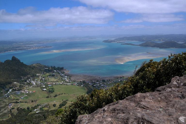 Aussicht Mt Manaia oben