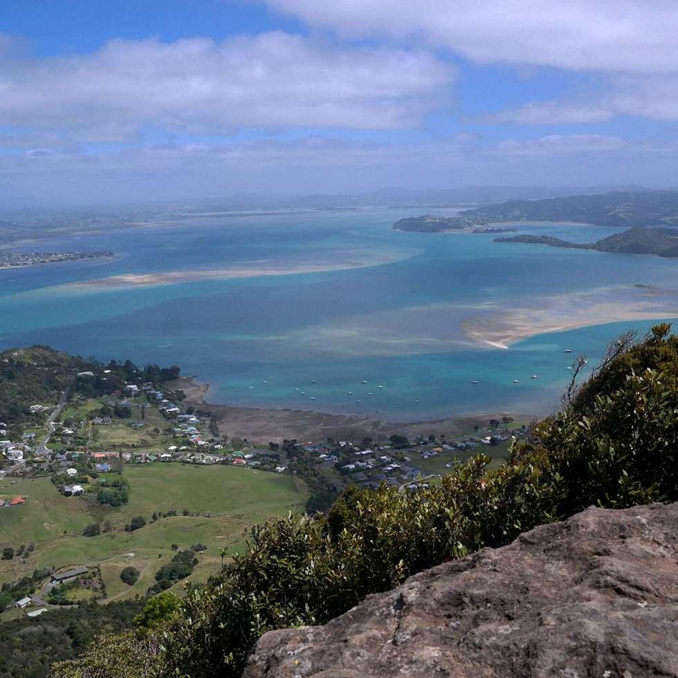 Aussicht Mt Manaia Whangerei