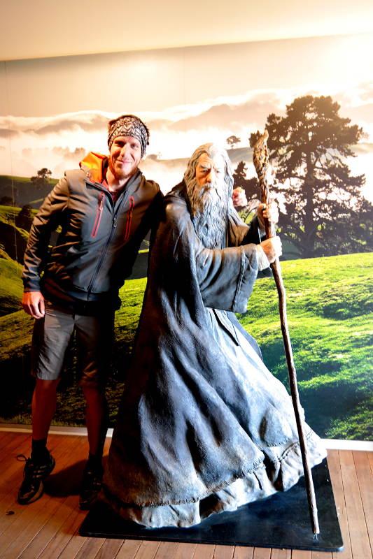Jonas und Gandalf
