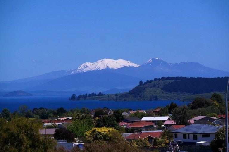 Lake Taupo und Tongariro