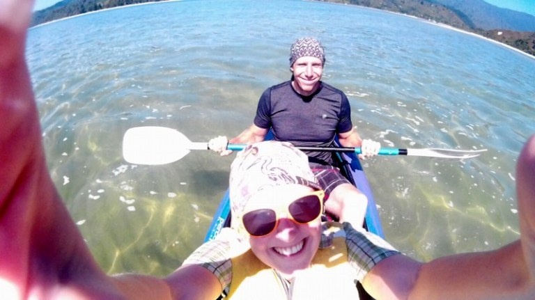 Kajak fahren im Abel Tasman Nationalpark