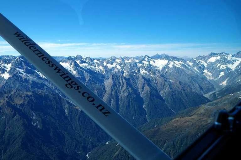 Neuseeland von oben Scenic Flight über die Südalpen