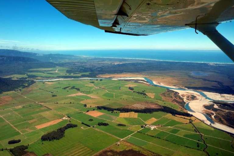 Neuseeland von oben Scenic Flight über die Westküste