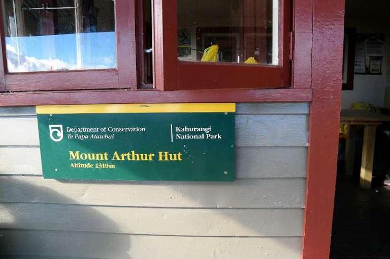 Mt Arthur Hut