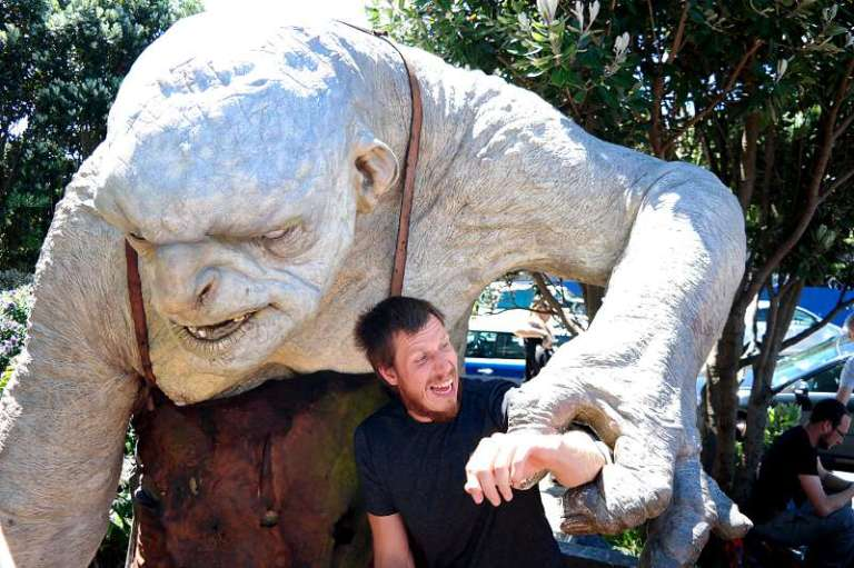 Weta Cave Wellington Troll