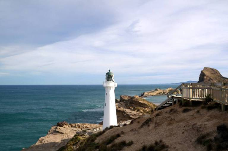 Leuchtturm Neuseeland Castle Point