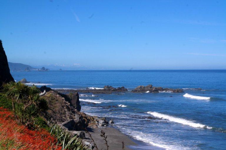 Westcoast Neuseeland Südinsel - Foto mit Flecken