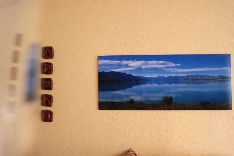 Mt Cook und Lake Pukaki Bild