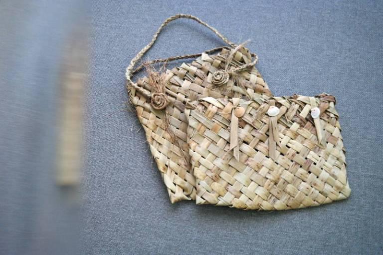 Taschen aus neuseeländischem Flachs
