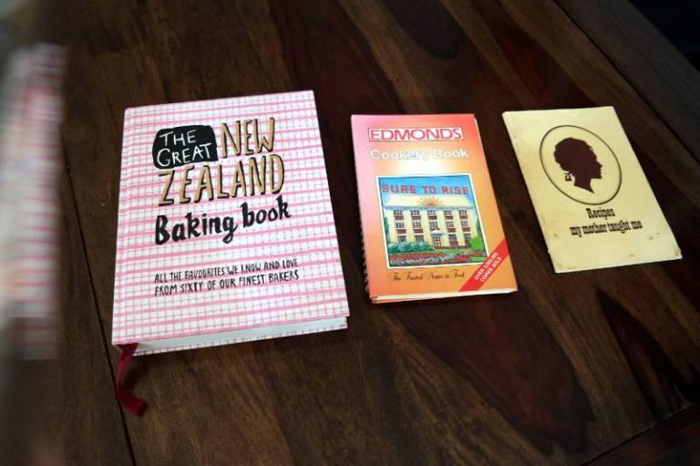 Koch- und Backbücher aus Neuseeland