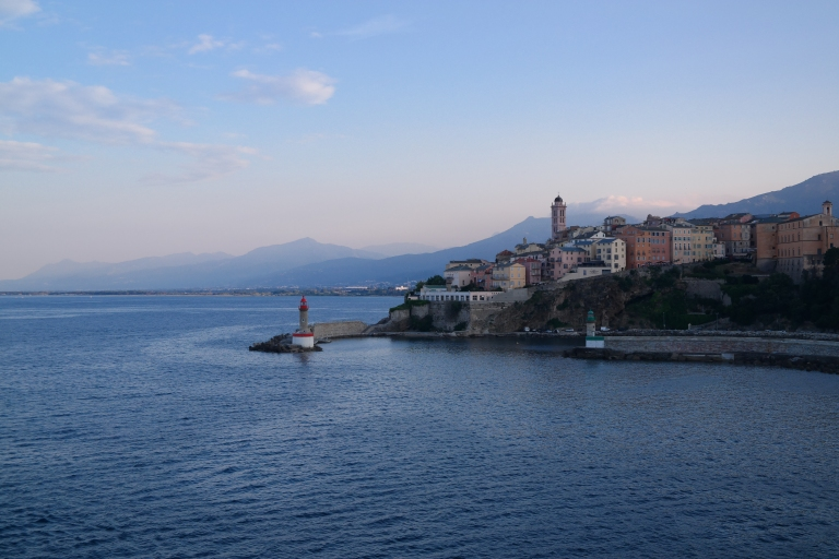 Ankunft auf Korsika in Bastia