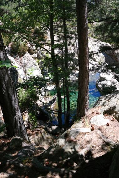 Die Cascades d'anglais auf Korsika - wunderschön!