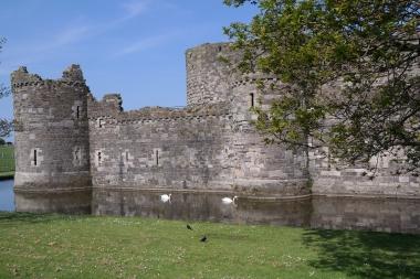 Burg von Beaumaris, Wales