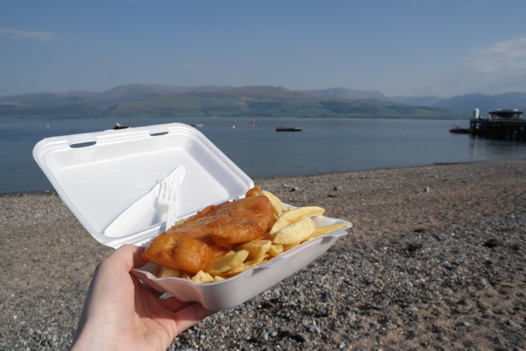 Fish and Chips with a view