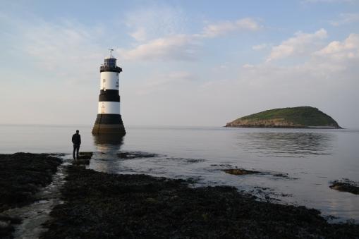 Penmon Leuchtturm auf Anglesey, Wales