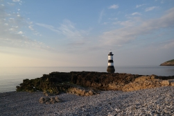 Penmon Leuchtturm auf Anglesey, Wales