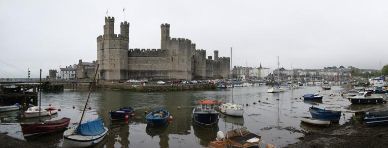 Burg von Caernarfon, Wales