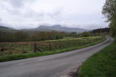 Straßen im Snowdonia Nationalpark