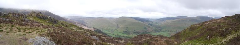 Snowdonia Nationalpark: Blick ins Tal