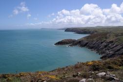 Küste von Pembrokeshire, Wales
