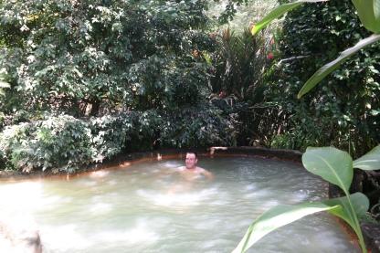 Heißes Bad im Terra Nostra Park in Furnas