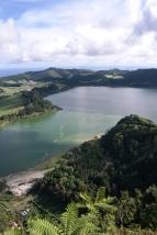 Lagoa das Furnas von oben