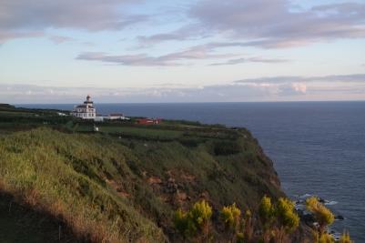 Leuchtturm auf Sao Miguel, Azoren