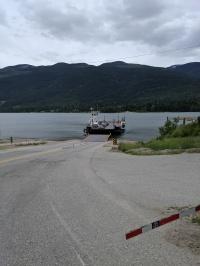 Fähre über den Upper Arrow Lake