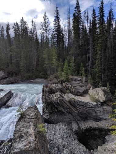 Yoho Nationalpark: Natural Bridge