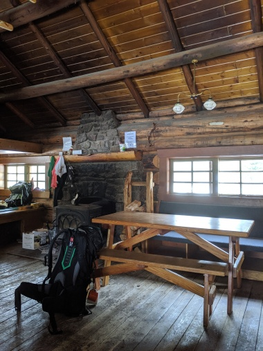 In der Elizabeth Parker Hut