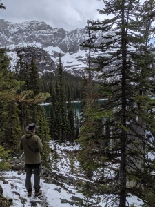 Jonas am Lake O'Hara Yoho Nationalpark