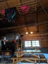 Licht in der Elizabeth Parker Hut