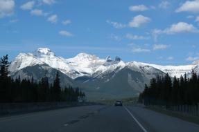 Fahrt nach Banff