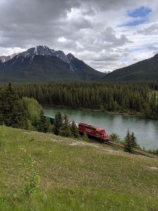 Zug durch den Nationalpark