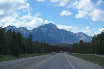 Ankunft in Jasper