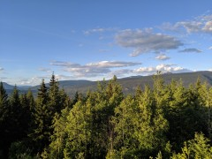 Aussicht über den Wells Gray Provincial Park