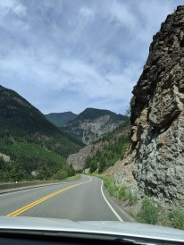 Durch den Fraser Canyon