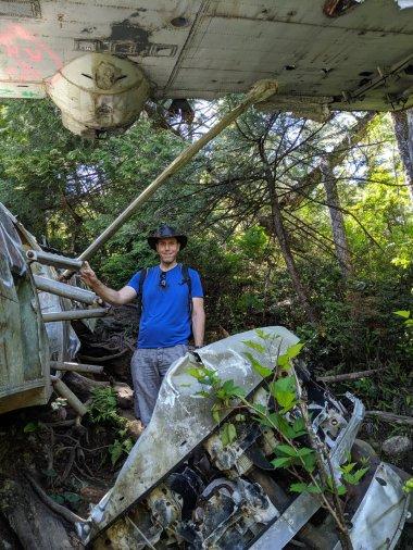Canso Plane Crash Hike