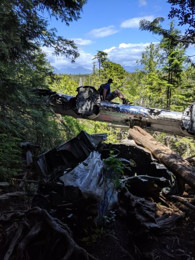 Canso Plane Crash Hike